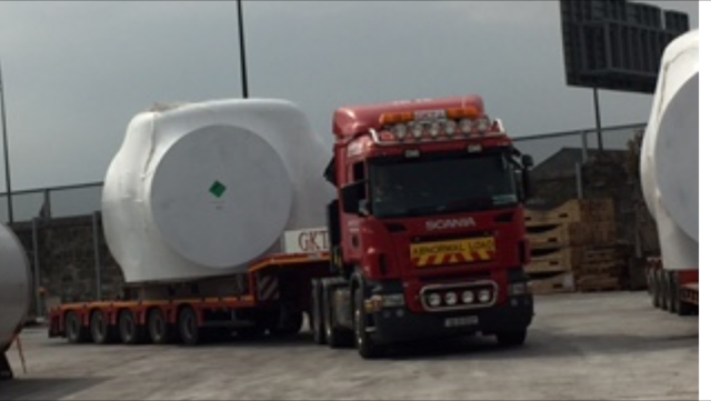 Heavy Haulage for the Wind Energy Sector