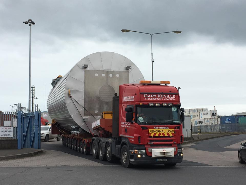 Heavy Haulage for the Power Generation sector